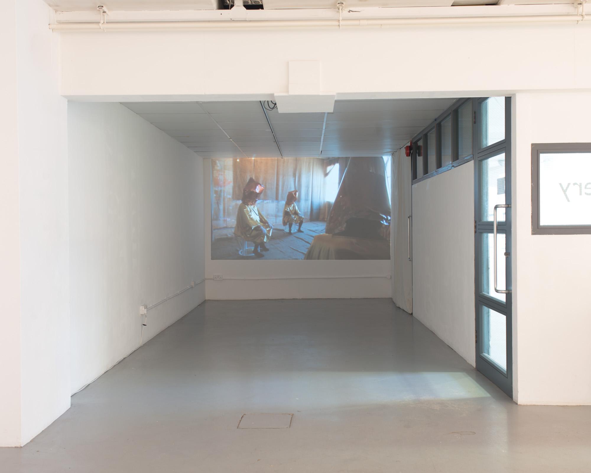 Mikala Dwyer, Goldene Bend'er, 2013, Video projection